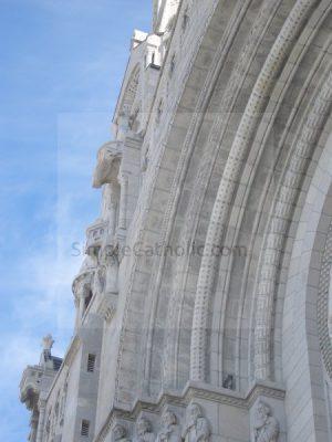 Church Exterior Detail - Simple Catholic