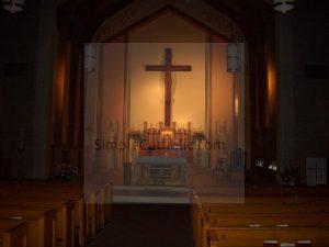Church Interior – Altar & Pews - Simple Catholic