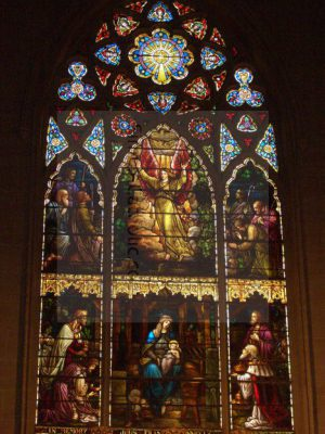 Church Interior – Stain Glass Windows - Simple Catholic