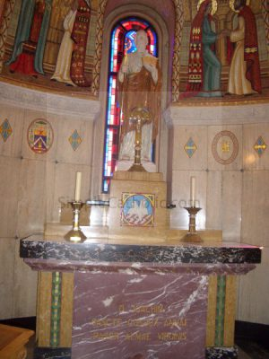 Church interior – side altar - Simple Catholic