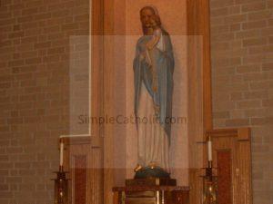 Statue of Mary - Simple Catholic