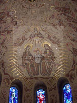 Ste Anne de Beaupre Ceiling Detail - Simple Catholic