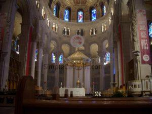 Ste Anne de Beaupre Main Altar - Simple Catholic