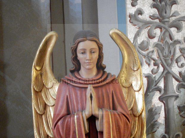 Angel Statue - Simple Catholic