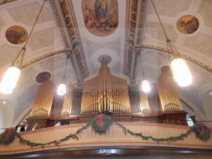 Ceiling and Loft of Catholic Church - Simple Catholic