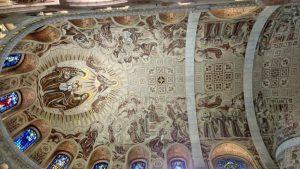 Church Interior Ceiling Detail - Simple Catholic
