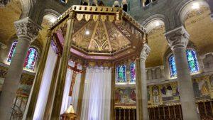 Church Interior High Altar - Simple Catholic