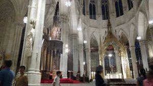 Church Interior (St Patrick's New York City) - Simple Catholic