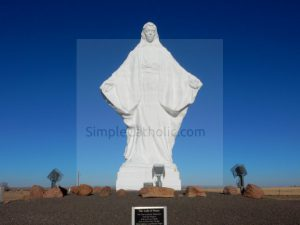 Our Lady of Peace Statue - Simple Catholic